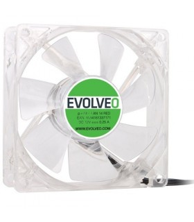 EVOLVEO 140mm LED červený